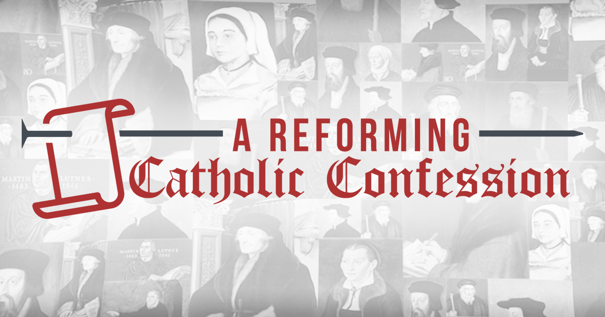Reformed Theology New: a doctrinal statement for all Reformation Protestants  Calvinism